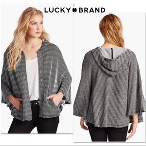 Lucky Brand Textured Active Poncho